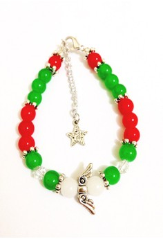 Bs3: Christmas Bracelet With Angel