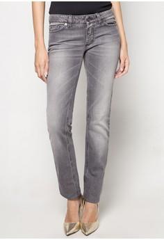 Slim Fit Denim Pants