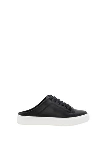 SEMBONIA black Women Synthetic Leather Sneaker 4758ESH072ECD5GS_1