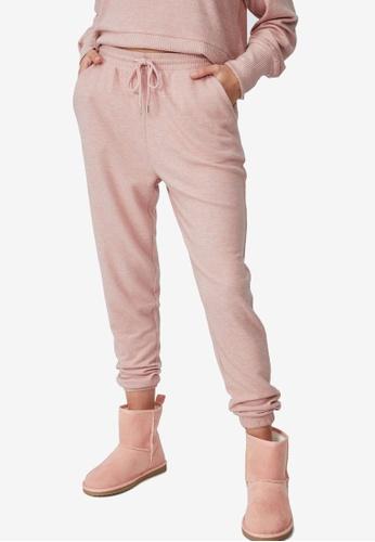 Cotton On Body pink Super Soft Slim Cuff Pants AF7FDAA83F1676GS_1