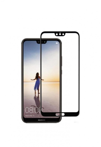 MobileHub black 5D Full Screen Tempered Glass Curved Screen Protector for Huawei P20 CAC66AC2F4E762GS_1