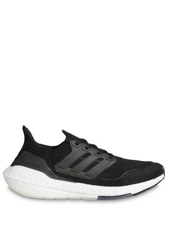 ADIDAS black ultraboost 21 shoes 9A775SHCC0E7EAGS_1