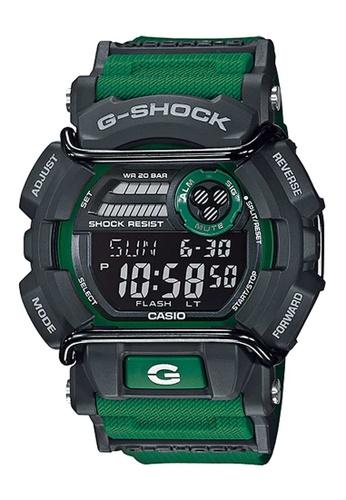 CASIO green Casio G-Shock Black and Green Resin Watch E9DDDACF0FB5F6GS_1