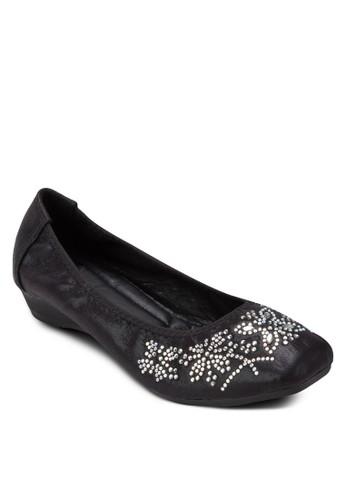 閃飾娃娃鞋, esprit 京站女鞋, 鞋