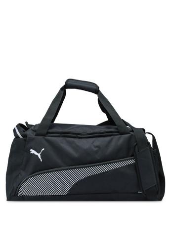 PUMA black Fundamentals Sports Bag M 42B3FAC5DAE58BGS_1