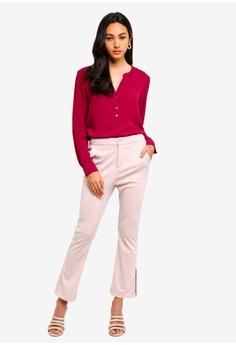 8ddaeceac850a7 JACQUELINE DE YONG Track Long Sleeve Blouse RM 89.00. Sizes 36 38 40 42