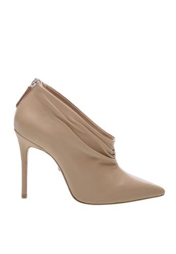 SCHUTZ beige SCHUTZ Ankle Boot Leather Nude - PIA (COCONUT) 1F3CBSH8E2D2CEGS_1