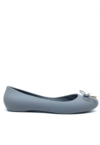 Twenty Eight Shoes grey Jelly Ballerinas A-9 B1EAESH1FE4A64GS_1