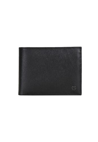 Goldlion blue Goldlion Men Leather Wallet (9 Cards Slot, Window Compartment, Center Flap, Coin Pouch) - Black 95ED6AC1D33E22GS_1