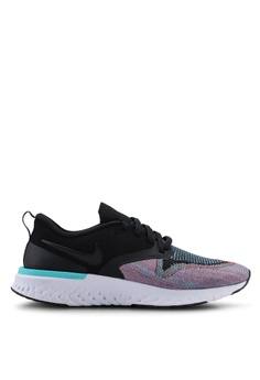 check out f10fb f3f47 Nike black and multi Nike Odyssey React Flyknit 2 Shoes 3A421SH24BE80DGS 1