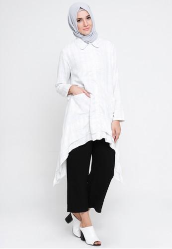 Cullotes Cilia White Blouse