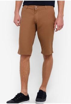 【ZALORA】 Signature 棉質短褲