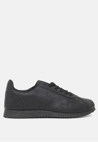 London Rag 黑色 缕空休闲运动鞋 E2AEASH48AD505GS_1