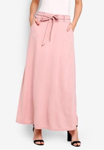 BYN pink Long Skirt BD167AAEDE0060GS_1