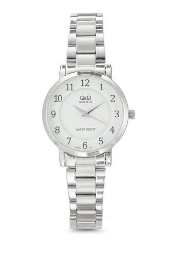 Q945J204Y 數zalora 評價字顯示不銹鋼手錶, 錶類, 飾品配件