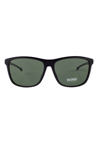 Hugo Boss black HUGO BOSS Square Black Sunglasses 0898FS HU898AC50OVTMY_1