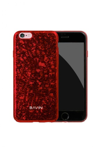 BAVIN red Broken Glass Hard Case for iPhone 7 CB7C6AC2ED2838GS_1