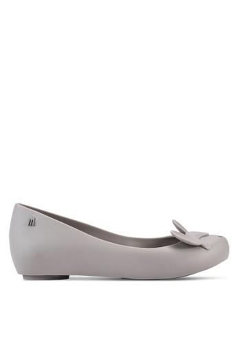 Ulesprit outlet 高雄tragirl + Minnie III 蝴蝶結娃娃鞋, 女鞋, 芭蕾平底鞋
