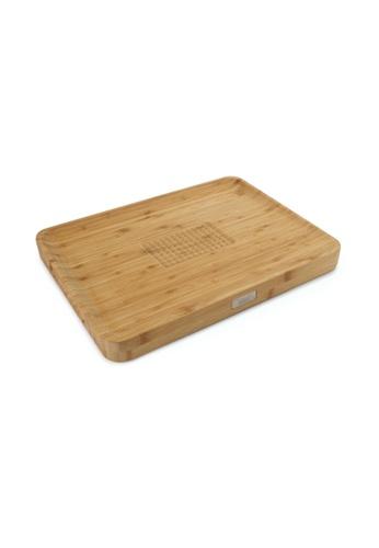 Joseph Joseph Joseph Joseph Cut & Carve Bamboo Multi-function Chopping Board (40x30x3.5cm) 78EACHLB742236GS_1
