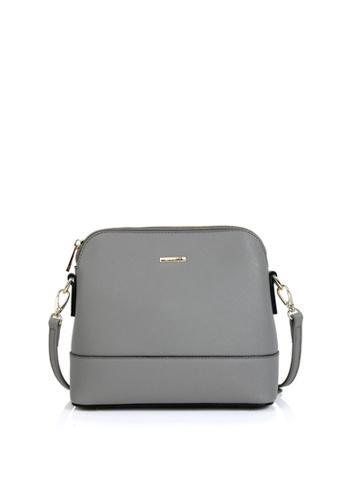 Della Stella grey Luna Mini Bag 4BD4AACDF7BD38GS_1