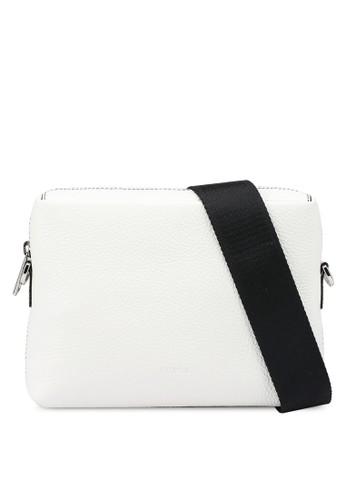 Furla white Mercurio S Crossbody Bag 972EAAC257960FGS_1