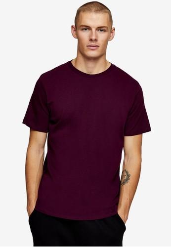 Topman purple Purple Classic T-shirt 089BAAA5005F3EGS_1