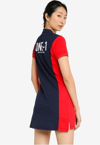 361° blue Sports Life One-Piece Dress 3BCCFAA37ECD1AGS_1