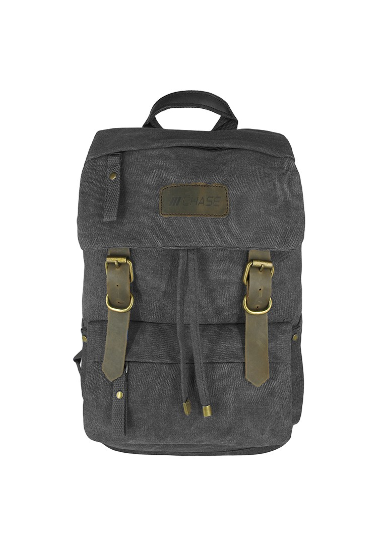 Drew Canvas Drawstring Backpack