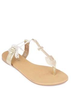 Anchor Flat Sandals
