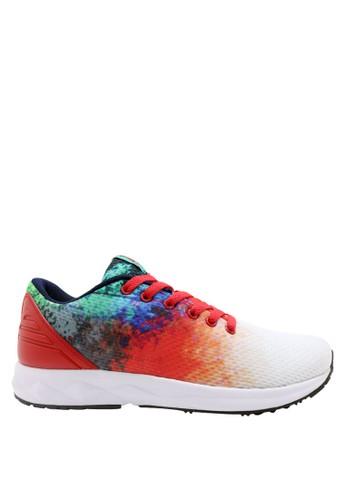 Precise white Precise Trend Sepatu Lari - Merah PR758SH0V5X6ID_1