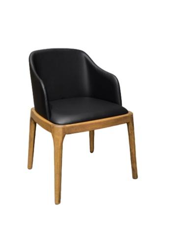 Chic Establishment black and brown Tahara Chair 4F260HL3CE1DE7GS_1