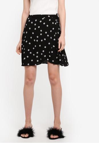 Supre multi Poppy Mini Wrap Skirt C7799AA3A0D6DBGS_1