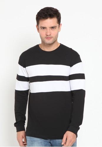 Ganbatte Inc black Full Double Stripes D2ABFAA2D943D7GS_1