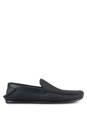 UniqTee black Casual Loafers UN097SH0S210MY_1