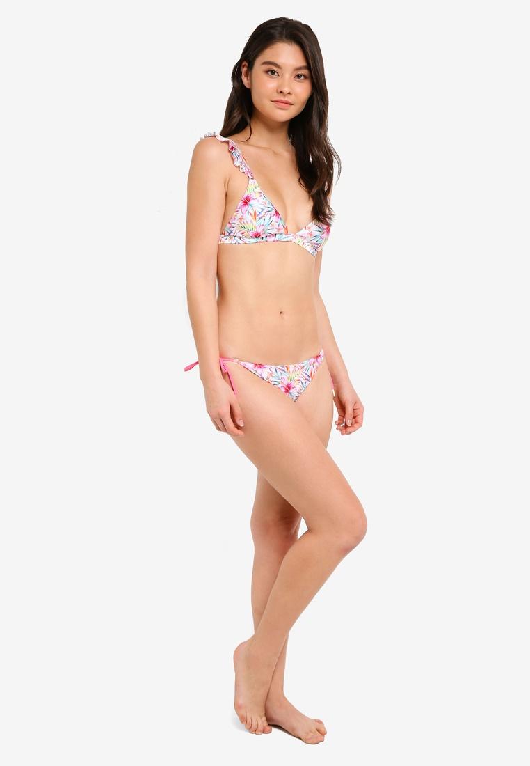 White Yshey Bikini Amey Floral Set Reversible waaqRO4pv