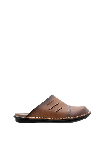 SEMBONIA brown SEMBONIA Men Sandal (Brown) 5A877SHF4D4993GS_1