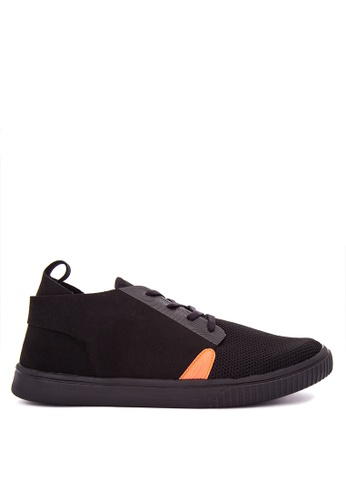 G&G black Coolway Men's Sneakers GG012SH0K3MAPH_1