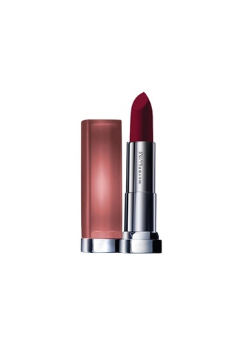 Maybelline red Maybelline Color Sensational Powder Matte Lipstick Inti-Mattes Nudes - Honey Cherry MRD 14 EC6D7BEE92E551GS_1