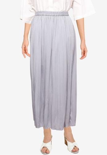 LOWRYS FARM blue Pleated Skirt CB620AA96263A9GS_1