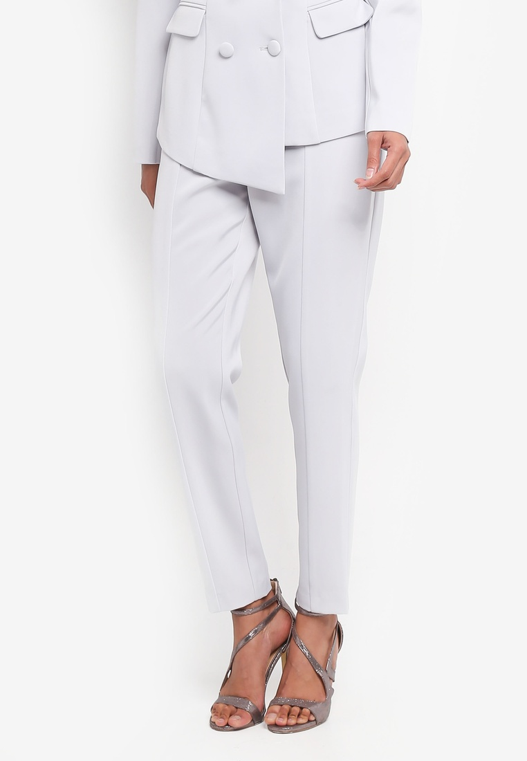 Tapered Grey Alice Lavish Trousers Panelled 1x7Yq68n