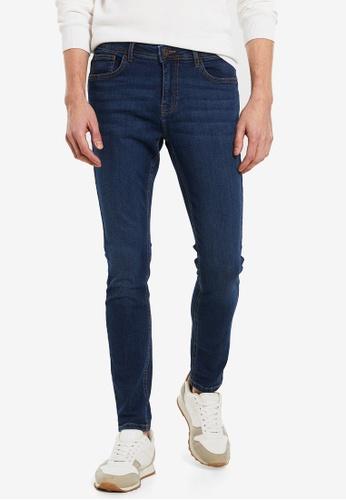 LC Waikiki blue Super Skinny Fit Jeans B582AAA4F6813FGS_1