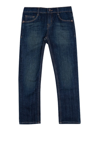 BOSSINI KIDS blue Boys Denim Pants 6227EKAD18C450GS_1