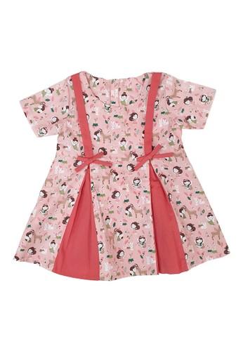 Pingu pink Pingu 90401212 - Dress Baby Perempuan 0FBA4KAD759898GS_1
