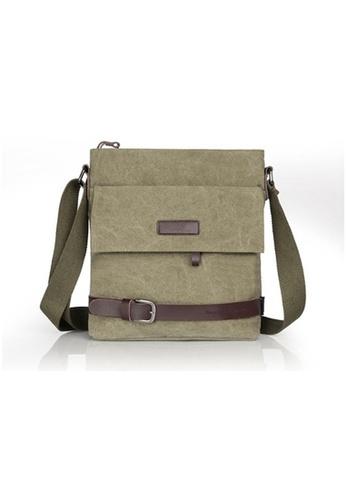 97036eb555 A FRENZ brown Vintage Knights Canvas Bag Messenger Bag Sling Bag Shoulder  Bag