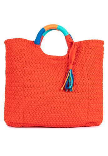 CHILL BY NOOKS orange Bayong With Tassle 31DE7ACCFF85FFGS_1