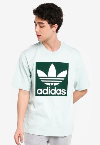 adidas Originals Oversized Trefoil T Shirt | T Shirts | Tops