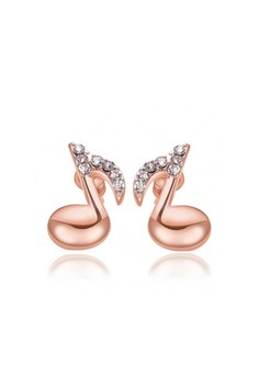 18k Rose Gold Plated Regine Earrings