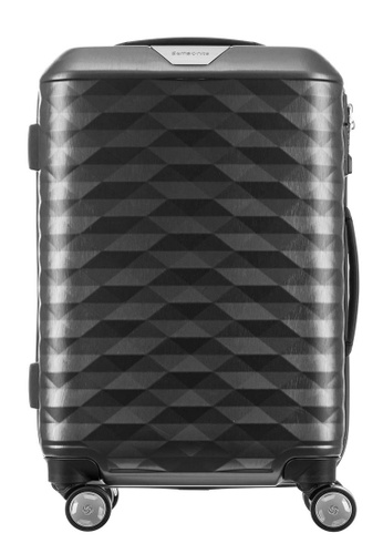 Samsonite grey Samsonite Polygon Spinner 55/20 Luggage 9463BAC3712A2EGS_1
