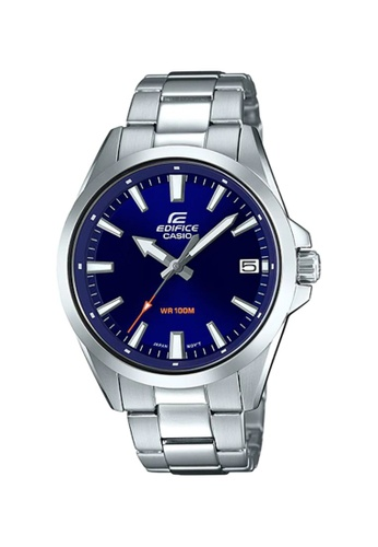 EDIFICE silver Casio Edifice Men's Analog EFV-100D-2AVUDF Stainless Steel Band Casual Watch 10171ACBA19567GS_1