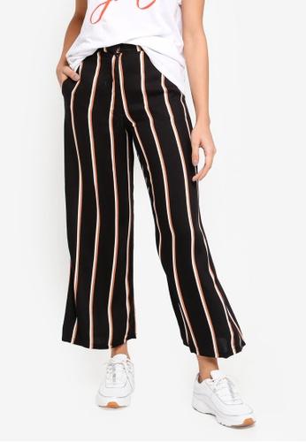 Cotton On black Wide Leg Drapey Pants DBFADAA5A91771GS_1